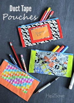 Crafternoons - Make a Duct Tape Pencil Case!