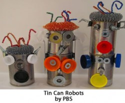 Crafternoons - Tin Can Robots!